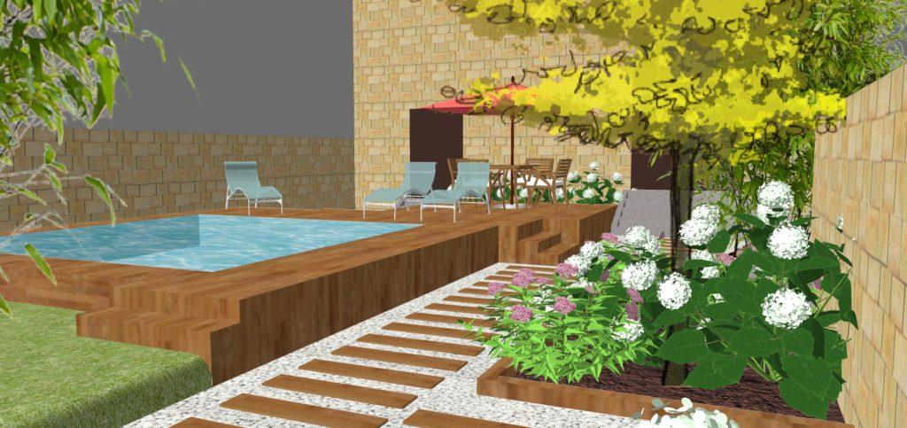 aménagement jardin agen